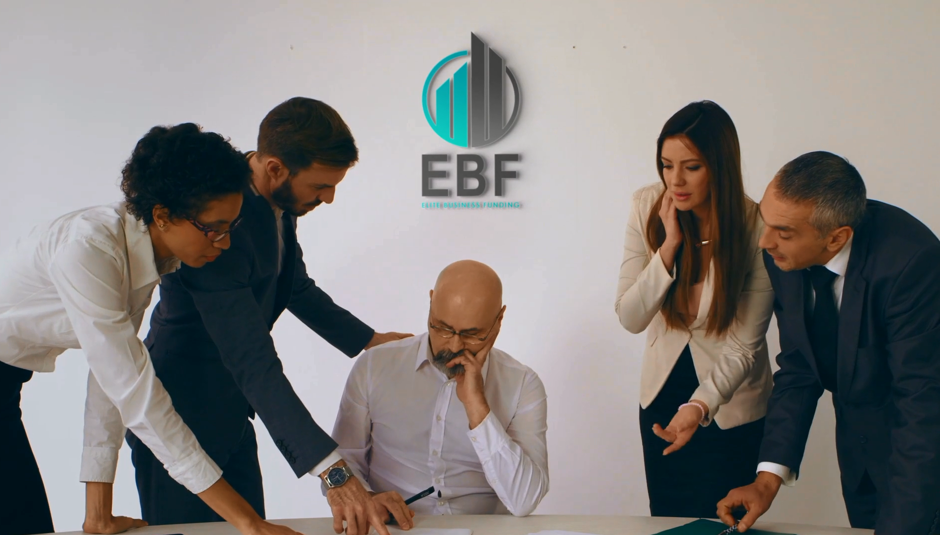 Elite Business Funding team discussion