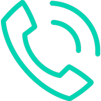 Telephone call animated icon