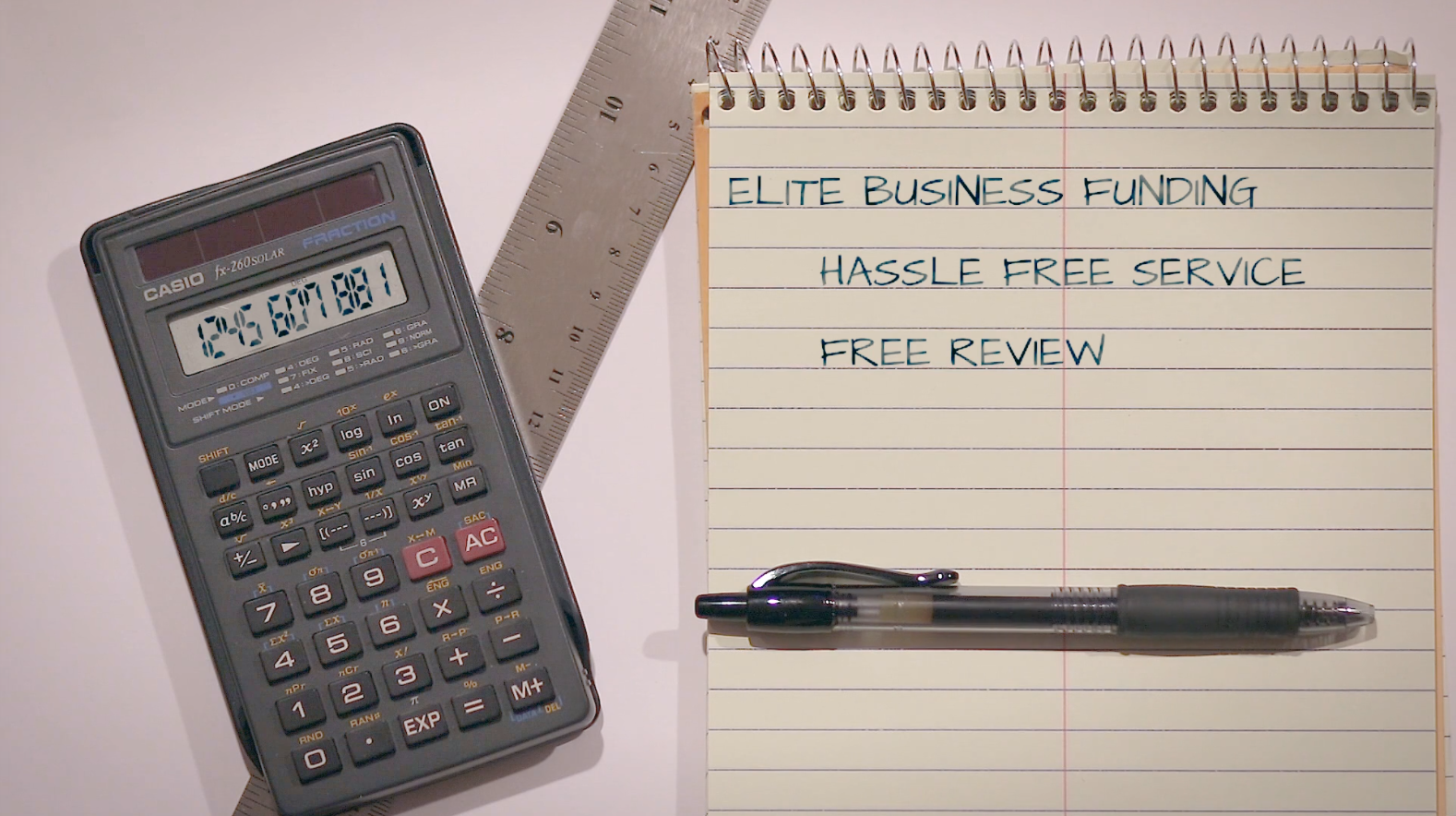 Elite Business Funding's hassle free service
